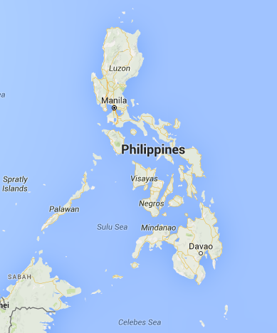 map of the phillipines
